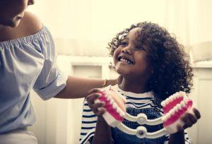 Child at pediatric dentistry in Chelsea MA
